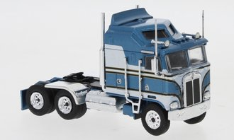 1:87 Kenworth K-100 Aerodyne Tractor (Blue Metallic/Gray)