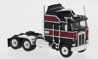 1:87 Kenworth K-100 Aerodyne Tractor (Black/Red)