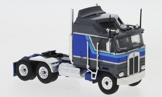 1:87 Kenworth K-100 Aerodyne Tractor (Gray Metallic/Blue)