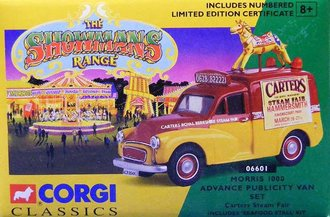 Showmans Morris 1000 Advance Publicity Van Set