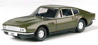 "James Bond Aston Martin ""On Her Majesty's Service"""