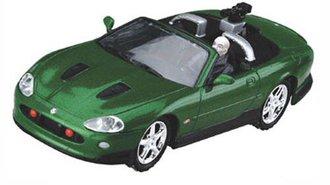 "1:36 James Bond Jaguar XKR Roadster (Green) ""Die Another Day"""
