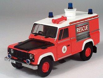 """Land Rover Defender 110 """"Manchester Fire Dept."""""""