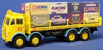 "ERF 8-Wheel Rigid Flatbed ""Corgi Milestone"""
