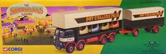 Showmans ERF Dodgem Truck & Box Trailer Set