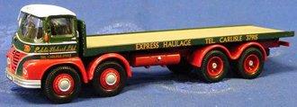 """Foden S21 8-Wheel Platform Lorry """"Eddie Stobart"""""""