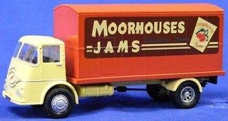 """ERF KV Box Lorry """"Moorhouses Jams"""""""
