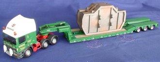 "ERF Semi w/Lowboy & Casting Load ""Bowring Transport Ltd."""