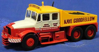 "Scammell Contractor Heavy Haul Tractor ""Kaye Goodfellow"""