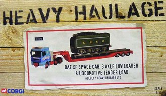 Heavy Haulage - DAF XF Space Cab 3-Axle Low Loader