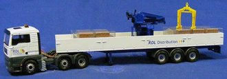 "MAN TGA XL Truck ""RDL Distribution"""