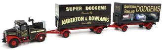 Showmans Highwayman Generator & Pole Trailer