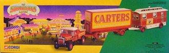 Showman's Scammell Highwayman, Trailer & Caravan