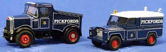 "Scammell Highwayman Ballast & Land Rover Set ""Pickfords"""