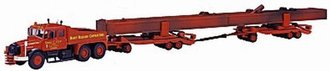 Heavy Haulage - Scammell w/Crane Girder Load