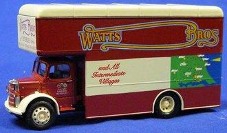 "Bedford O Series Pantechnicon ""Watts Bros."""