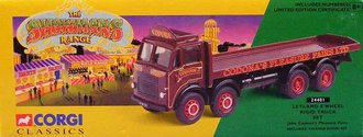 Showmans Leyland 8-Wheel Rigid Truck Set