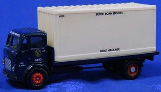 "Leyland Rigid w/Container ""British Road Services - Meat Service"""