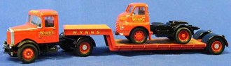 "Scammell Highwayman Articulated Low Loader & Bedford S ""Wynn's"""
