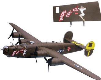 "B-24J Liberator ""Sleepy Time Gal"" w/Nose Art"