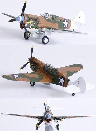 P-40E Warhawk - 'Typhoon Mcgoon', Lt. Clyde V. Kinsley, 7th Fs/49th Fg