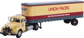 "Mack LJ w/Van Trailer ""Union Pacific"" (Serial #0001)"