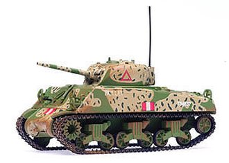 "M4A3 Sherman Tank ""British Army"""