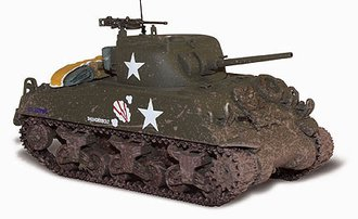"D-Day M4A3 Sherman Tank ""U.S. Army"""