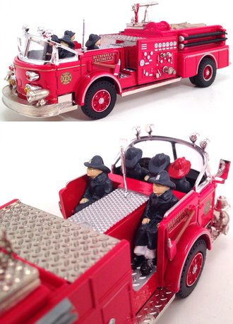 "1:50 American LaFrance Fire Pumper ""Bethpage, NY"""
