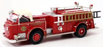 """1956 American LaFrance Fire Engine """"Bethpage, NY"""" (Red)"""