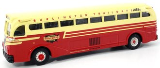 "Yellow Coach 743 Bus ""Burlington Trailways - Chicago"""