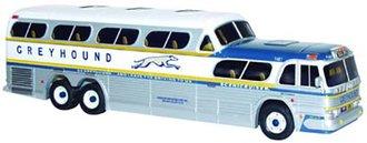"""1:50 Scenicruiser Bus """"Greyhound - Chicago, IL"""""""