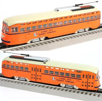 "1:50 Lionel PCC Street Car ""Lionel City Transit Company"""