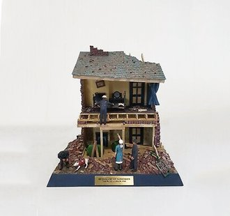 1:32 London Blitz Diorama 1940 *** Box Damage ***