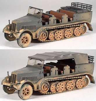 "German Sd.Kfz 7 Semi-Track ""German Army"""