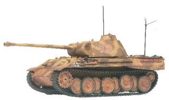 "Panther A Tank ""German Army"""