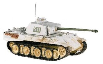 1:50 Panther Pzkpfw Tank (Winter)