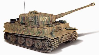 D-Day German Tiger I Tank