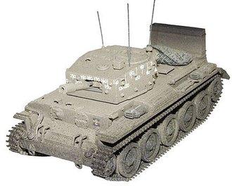 "D-Day U.K. Cantaur Tank ""Marines"""
