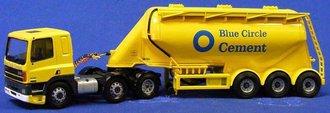 "Leyland DAF Powder Tanker ""Blue Circle Cement"""