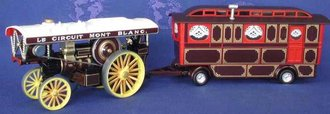 "Vintage Glory - Fowler B6 Showmans Engine & Caravan ""Onward"""