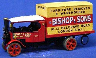 "Vintage Glory - Foden Flat Liftvan ""Bishop & Sons"""
