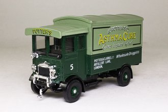 """AEC 508 Cabover """"Potter's Asthma Cure"""" (Green)"""