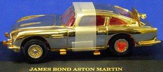 James Bond Aston Martin DB5 (Gold)