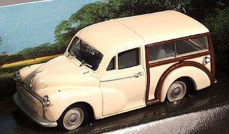 Morris Traveller (Old English White)