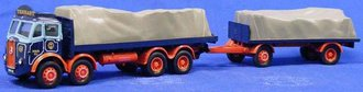 "Atkinson 8-Wheel Flatbed Truck & Flatbed Trailer ""Tennant"""