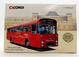 "Leyland Leopard Transit Bus ""Midland Red"" (Red)"