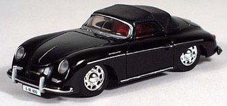 Porsche 356 Soft Top (Black)