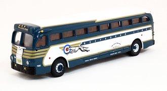 """GM 743 Bus """"Greyhound Dog w/Target"""""""