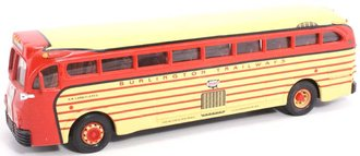 "1:50 GM 743 Bus ""Burlington Trailways"" (Stripes)"